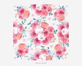 Sweet Rose Watercolor Clipart