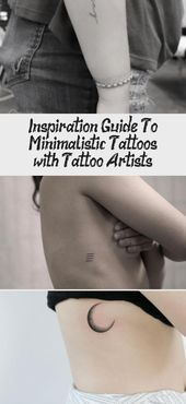 Inspiration Guide To Minimalistic Tattoos (with Tattoo Artists!)