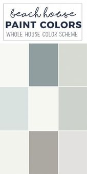 Paint Colors for a Whole Home Color Palette – Calming Neutral Paint Colors Paint…   – Hairstyle