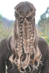 Lange Frisuren und Schnitte Ideen -Super hübsche lange Frisuren #gestuft #stufe…
