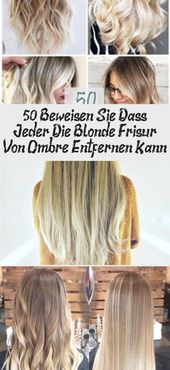 50 prove everyone can remove Ombre's blonde hairstyle