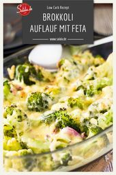 Cheese and broccoli always fit. If you do feta and all that …   – Kochen