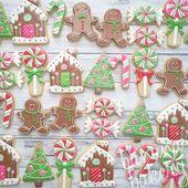 Más de 20 lindas galletas navideñas para 2018 – Blush & Pine   – Christmas