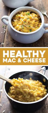 Healthy Mac and Cheese  – Quick & Easy Recipes