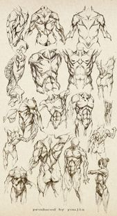 Trendy drawing body structure art Ideas