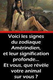 Voici les signes du zodiaque Amérindien, et leur signification profonde… Et vous, que révèle votre animal sur vous ?
