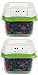 Rubbermaid Freshworks Produce Saver Food Storage Container Small