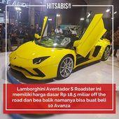 Lamborghini Aventador S Roadster Berkelir Kuning Mentereng Pertama Kali Dipamerkan Di Indonesia International Motor Lamborghini Aventador Lamborghini Kendaraan