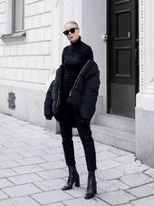 Alle schwarzen Outfit-Ideen für diese Woche | STYLE REPORT MAGAZIN   – BLACK