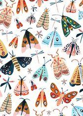Spring Moth Pattern – #inszenierung #Moth #Pattern #Spring