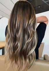 Hair color ideas and trends for the long hairstyle winter 2018-2019 Source by sof … –