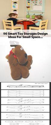 90+ Smart Toy Storages Design-Ideen für kleine Räume   – Toy