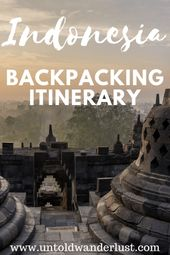 Backpacking Indonesia itinerary: 2 weeks of beaches, rice fields & more