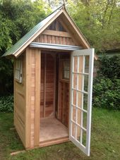 Beautiful Garden Shed Made From Recycled Materials – Victorian Craftsmen – Bainb…   – Gartenhäuser
