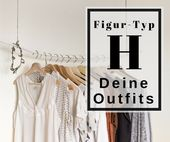 The best clothing cuts for figure type H
