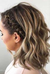 24 einfache Frisuren für die Arbeit, die überhau…