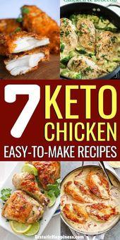 Keto Hühnchen Rezepte! Verwenden Sie diese einfachen Keto-Hühnchen-Rezepte, um Ihre ketogenen …