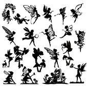 Detailed Fairy Die Cut Out Silhouette – 20 x fairies and a deer. Great for fairy jar, cardmaking, scrapbooking, party bag fillers
