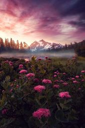 Lila Dunst, Mount Shuksan, Washington – #Dunst #Li…