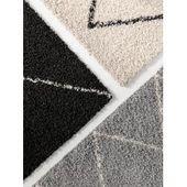 benuta Essentials Hochflor Shaggyteppich Ava Hellbraun 140×200 cm – Langflor Teppich für Wohnzimmerb – Products