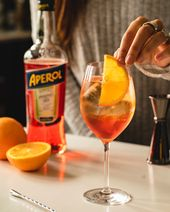 Aperol Spritz Cocktail – Adult Drinks