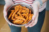 🍽 Este camote 🍠 horneado con especias es el acompañamiento perfecto para su próxima comida   – Comidas saludables