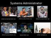 Systems Administrators Picture  Geeky Humor