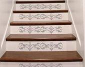 Stencil, Wall Stencil,Raised Plaster Stencil Fleurs D' Amour Wall Stencil, Portray Stencil, Ornamental Stencil