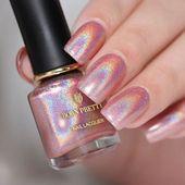 DIY – Straightforward Glitter Nail Designs