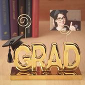Luxurious Grad Clip Picture Holder In Gold From Gifts By Fashioncraft
