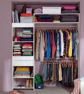 Ranger son dressing : les meilleures astuces | Dressings, Organizing ...