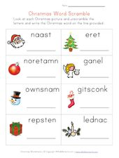 Kindergarten Weihnachten zum ausdrucken – ESL
