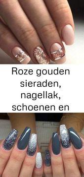 Roségoldschmuck, Nagellack, Schuhe und weitere Ideen zum Tragen dieser Farbe 4   – Nagel