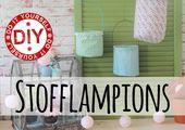 Video: Lampion aus Stoff für Balkon und Garten selber machen – DIY-Anleitung – Deko