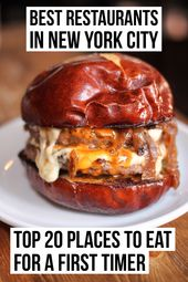 Best Restaurants in NYC: Top 20 Places For a First Timer