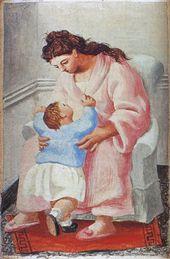 Mere Et Enfant2 1921 Pablo Picasso Art Picasso Art Pablo Picasso