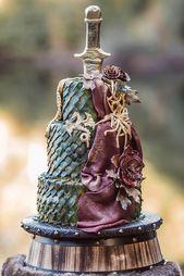 Einzigartige Hochzeitstorten, die ins Auge stechen ❤ Weitere Informationen: www.weddingforwar … #weddingfor …   – Birthday cake's