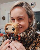 """Brie Larson – Capitán Marvel en Instagram: """"¡Gracias por 20k! Estoy feliz    ¥ … – MCU / Marvel"""