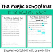 The Magic School Bus In The Haunted House Magic School Bus Magic School School Bus