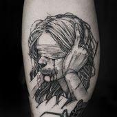 G.ghost sur Instagram: gemacht bei @bloodcandy_tattoo mit @quantumtattooinks