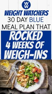30 Day Weight Watchers Meal Plan Helped Me Lose Almost 20 Pounds