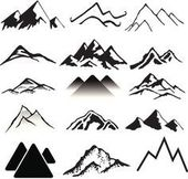 19 Trendy Ideas Drawing Simple Mountain