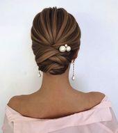 60 Trendiest Updos for Medium Length Hair – Updos for medium length hair – Aheyko Blog