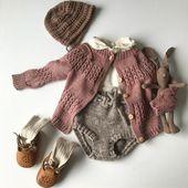 Rezept fertig! Teststricker bekommen es morgen #Netzjacke? #hope knit #s …   – Child – Clothing