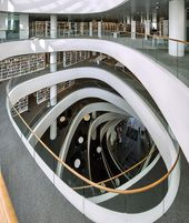 Illustrator Workspace Library Design   Library Interior   Organic Beauty.....