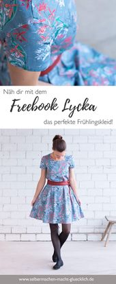 Freebook Lycka for the perfect spring dress!