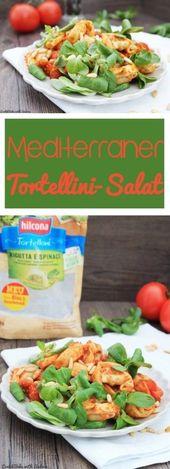 Mediterranean Tortellini Salad – Salads – #Mediterranean #Salad #Tortellini salad