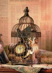 40+ Retro Vogelkäfig Deko Ideen zum Nachmachen