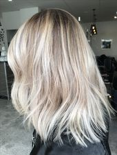 Blonde balayage, long hair, cool girl hair ✌️ …