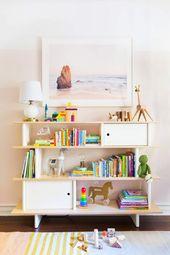 Ein Mädchenschlafzimmer mit Stokke + Holen Sie sich den Look – Kinderzimmer skandinavisch